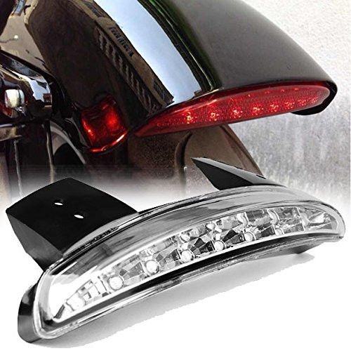 Eagle Lights Red LED Taillight Conversion  Upgrade Kit for Harley Sportster  Dyna Clear Tail Light