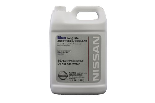 Genuine Nissan Fluid 999mp-l25500p Blue Long Life Antifreeze/coolant - 1 Gallon