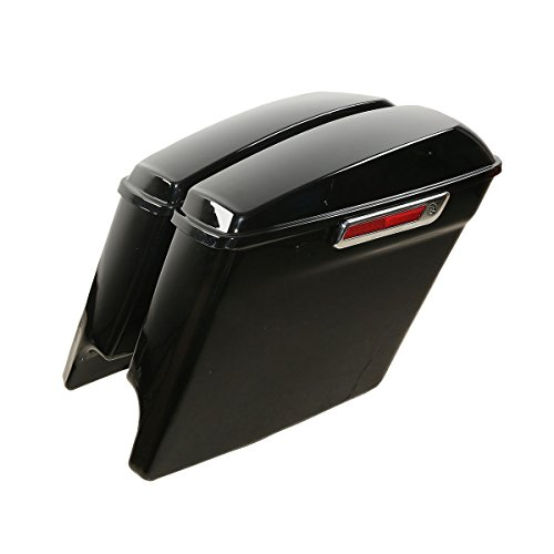 XFMT 5 Extended Saddlebags with Keys For Harley Touring Electra Road Glide Ultra 2014-2018
