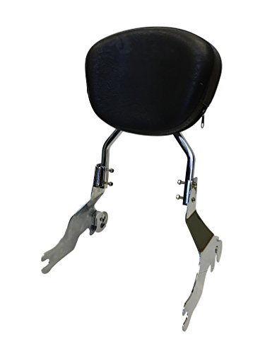 Sissy Bar Backrest for 94-03 Harley Davidson Sportster XL 1200 883 - Contoured