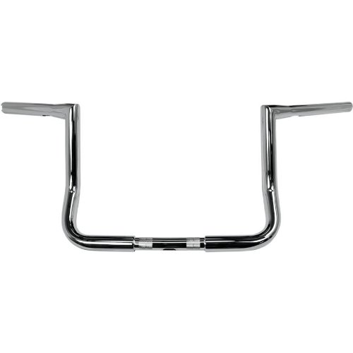 LA Choppers 1 1 4in Twin Peaks Touring Handlebar - 10in Bagger - Chrome Color Chrome Handle Bar Size 1 14in