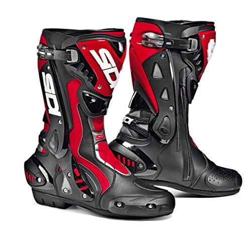 Sidi ST Motorcycle Boots BlackRed US10EU44 More Size Options