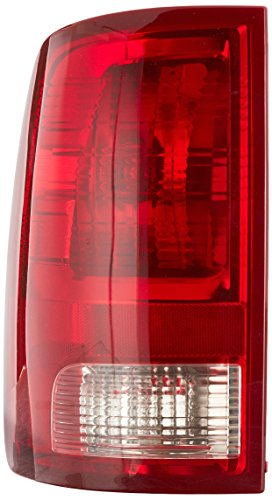 OE Replacement Dodge Pickup Driver Side Taillight LensHousing Partslink Number CH2818124