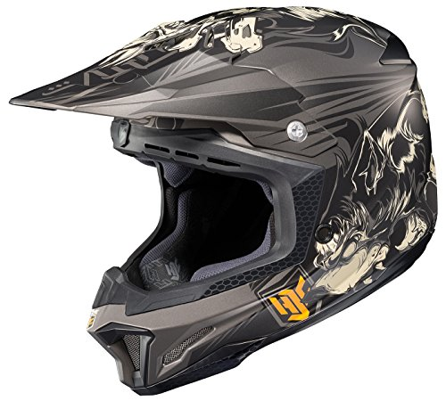 HJC CL-X7 El Lobo Off-Road Motocross Helmet MC-5F XX-Large