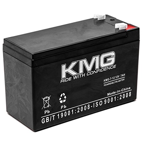 KMG 12V 7Ah Replacement Battery for Interstate Batteries ASLA0124 ASLA1080