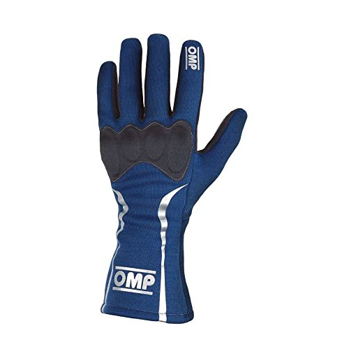 OMP Racing X-Large Blue Single Layer Driving Gloves PN IB750BXL