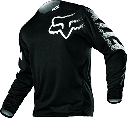 2017 FOX Racing Youth Blackout MX Riding Jersey Black Size XL