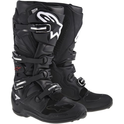 Alpinestars Tech 7 Mens Off-Road Motorcycle Boots - Black  Size 11