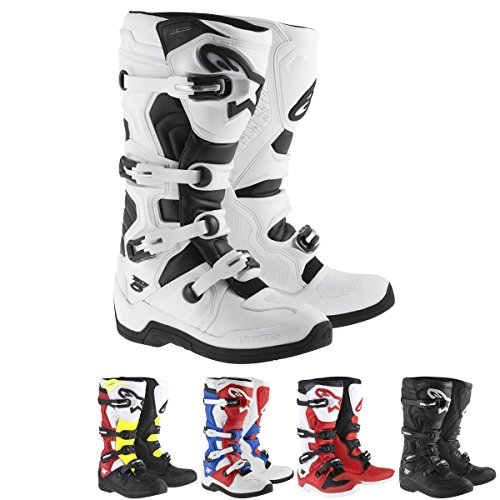 Alpinestars Tech 5 Mens Black Motocross Boots - 9