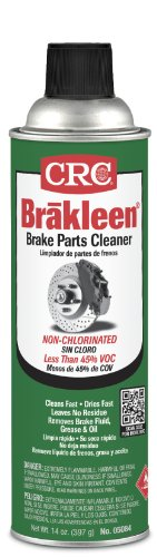 CRC BRAKLEEN Chlorine-Free Brake Parts Cleaner - Low VOC