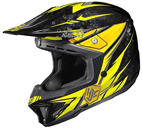 HJC CL-X7 Pop N Lock Off-Road Motocross Helmet MC-3 Large