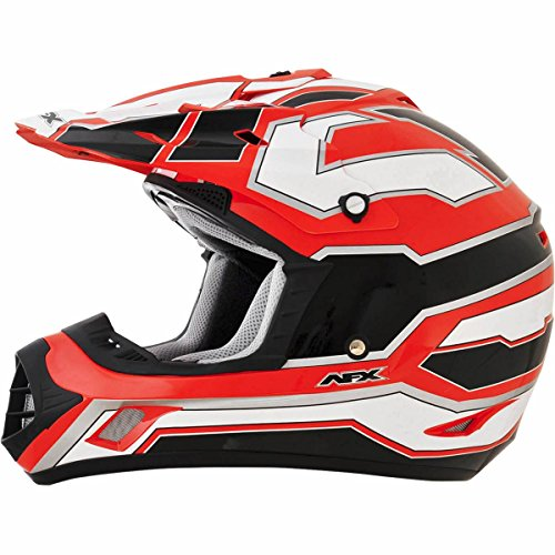 AFX FX-17 Works Mens Motocross Helmets - Orange - X-Large