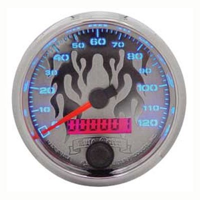 "Pro-cycle 2 5/8"" O.d. Electronic Speedometer For Harley-davidson Custom Use"