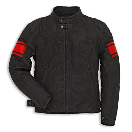 Ducati 981028556 Classic C2 Leather Riding Jacket - Size 56