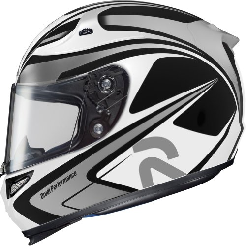 HJC Zappy Mens RPHA-10 On-Road Motorcycle Helmet - MC-5  X-Large