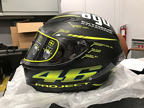 AGV Pista GP-R 46 20 Adult Helmet - Black  Large