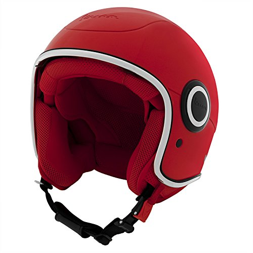 Vespa VJ1-946 Red Helmet - DOT Certified - M
