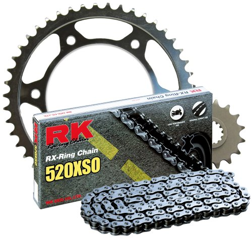 RK Racing Chain 4067-999S Steel Rear Sprocket and 520XSO Chain 520 Steel Conversion Kit