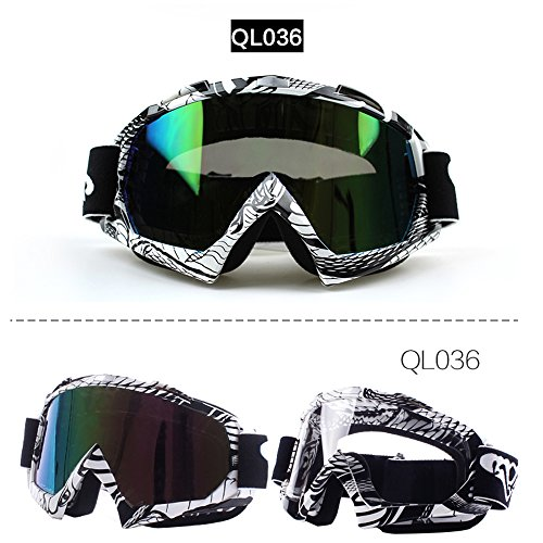 Fodsport Motorcycle Riding Glasses ManWomen Motocross Goggles Glasses Ware MX off Road Helmets Goggles Sport Gafas for Motorcycle B Style