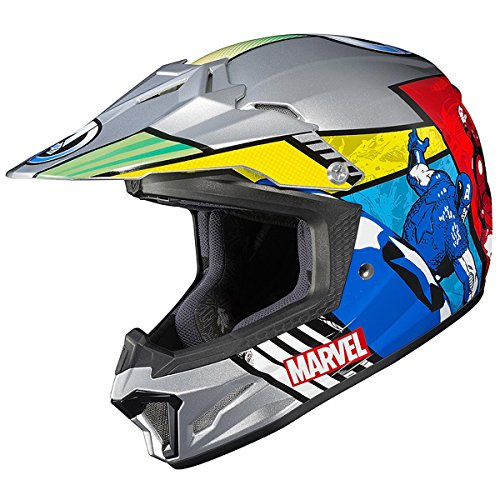 HJC CL-XY 2 Marvel Comics Avengers Youth Motocross Helmet - Medium