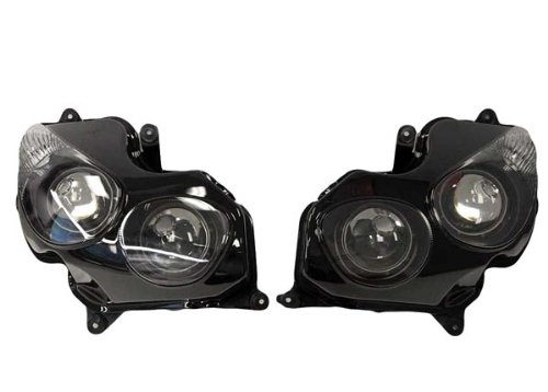 Yana Shiki HL1043-5 Replacement Head Light Assembly  for Kawasaki ZX-14ZX14RZZR 1400