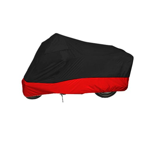 Black - Red Motorcycle Cover For ultra classic Harley Davidson XXL