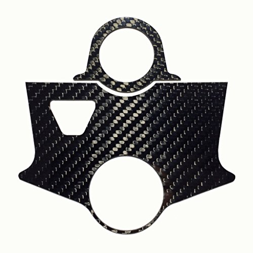 SKUR Triumph Sprint ST 99-04 REAL GENUINE Carbon Fiber Triple Tree Yoke Cover Top Clamp Scratch Protector Key Guard