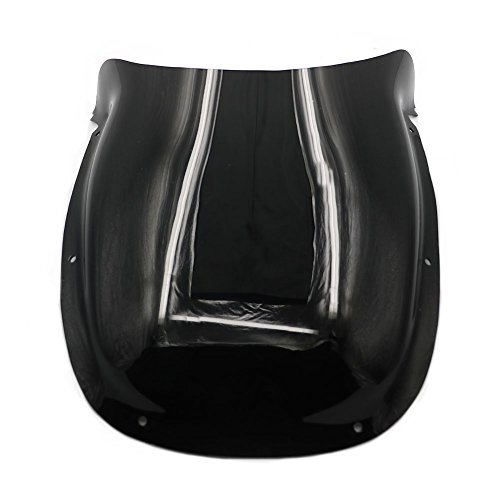 Alpha Rider Black Motorcycle Windshield Windscreen For DUCATI ST2 1998 - 2003  ST4 ST4S 1999 - 2003