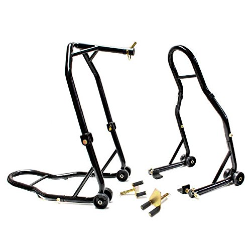 Venom Motorcycle Front Triple Tree Rear Swingarm Spool Lift Combo Wheel Lift Stands For Ducati ST2ST3ST4 All Years