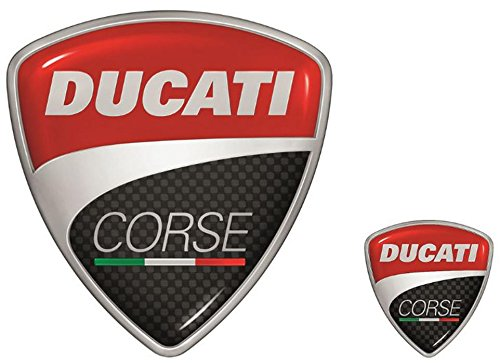 Ducati Corse Logo Sticker Pack Two In All Decal 987694016