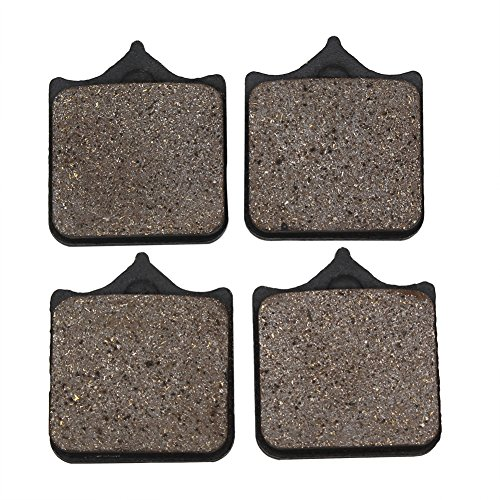Cyleto Front Brake Pads for Ducati S4R S4RS S4 RS Monster  Tricolore  Monster Testastretta 998 cc 2006 2007 2008