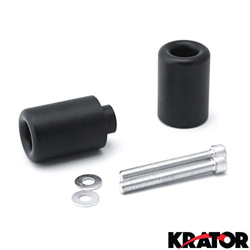 Krator No Cut Frame Sliders Motorcycle Fairing Protectors For 2002-2003 Honda CBR 954RR