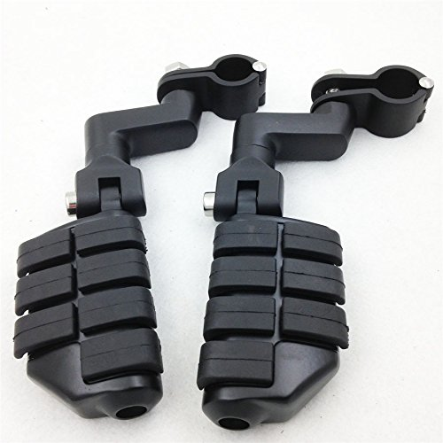Brand New Highway Clamps 15&quot 1 12&quot Large Foot Pegs For Yamaha V-star Roadstar Kawasaki Vulcan Motorcycle
