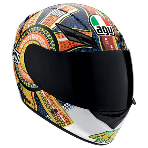 AGV K3 Rossi Dreamtime Motorcycle Helmet Large AGV SPA - ITALY 032150A0011009