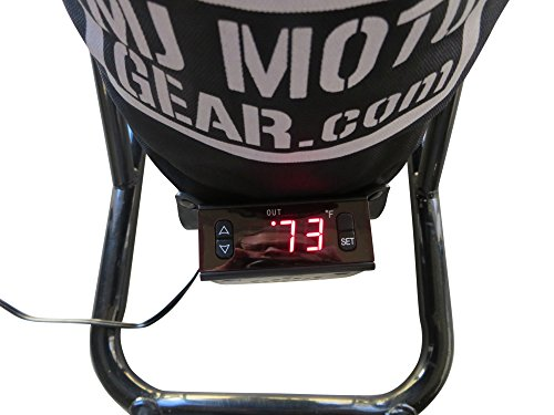 Digital Control Motorcycle Tire Warmers Pair 180 to 200 Rr 120 Fr