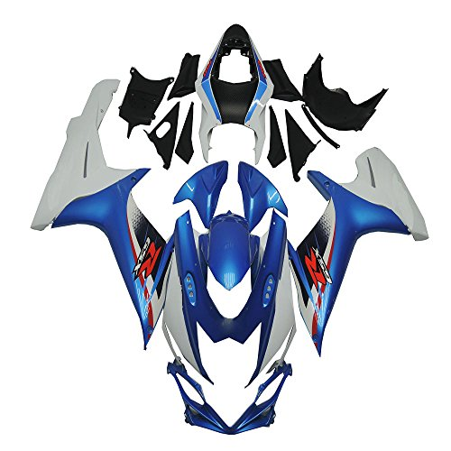Blue White Injection ABS Fairing Fit for Suzuki GSXR 600 750 k11 2011 2012 2013 2014 2015