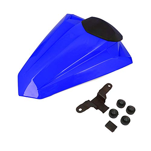 AnXin Motorcycle Blue Rear Seat Cowl Passenger Pillion Fairing Tail Cover For Kawasaki Ninja EX300R 2013-2017