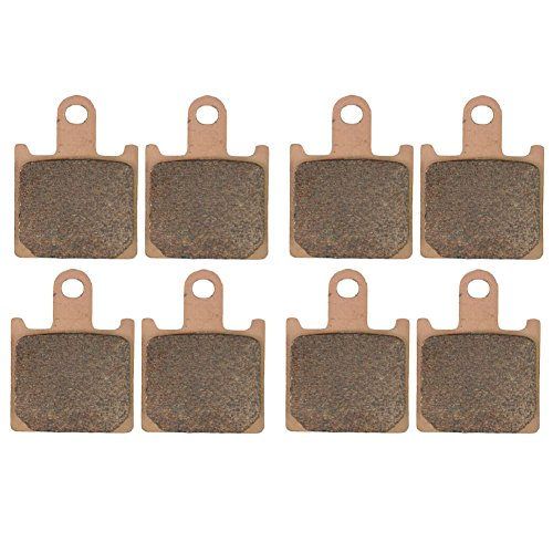 AHL Sintered Front Brake Pads Set for Kawasaki ZZR1400 ZX1400 ABCDF 2006-2014