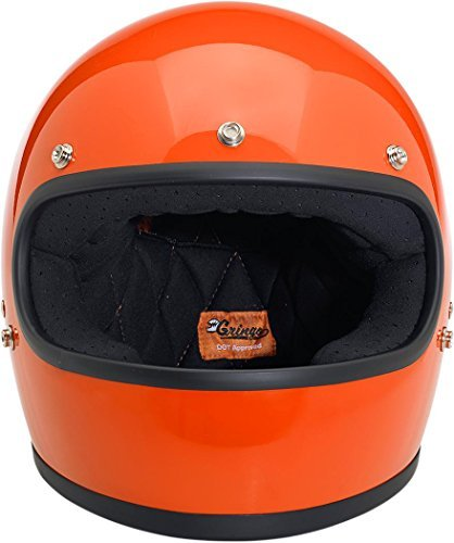 Biltwell Gringo Gloss Helmet - SmallHazard Orange