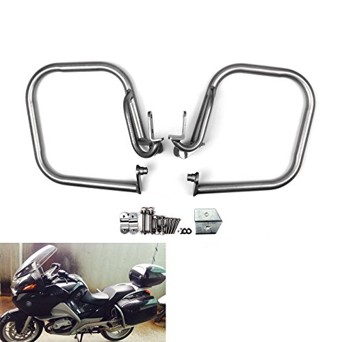 Areyourshop Crashbars Crash bars Trunk Protection For BMW R1200RT R 1200RT 2005-2013 Silver