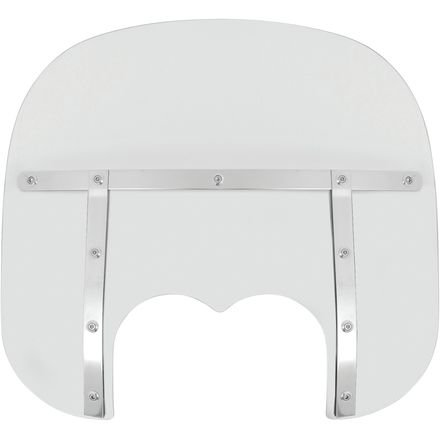 Memphis Shades Memphis Fats 19 Inch Windshield - Clear