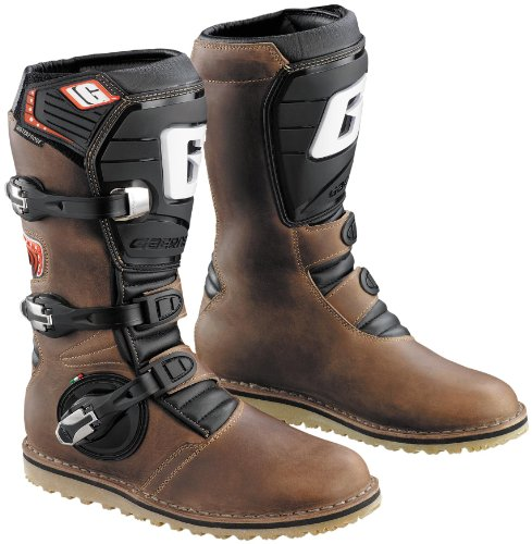 Gaerne Balance Oiled Adult Off-Road Motorcycle Boots Brown 11