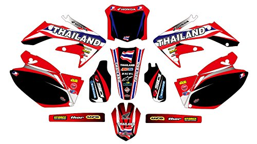 5373 HONDA CRF 250 2006-2009 DECALS STICKERS GRAPHICS KIT
