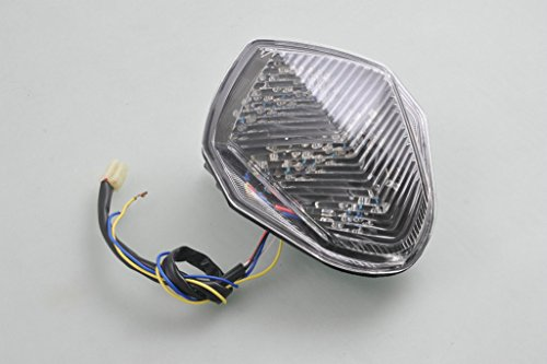 Sunny New Motocycle LED Tail Light For Suzuki GSXR 1000 2003 2004 03 04 Clear