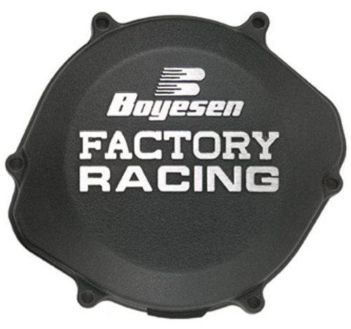 Boyesen CC-02AB Black Factory Racing Clutch Cover