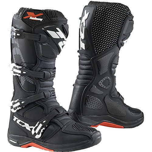 TCX 9671 Mens X-Helium Michelin Off-Road Motorcycle Boots - Black Size Eu 45  Us 11