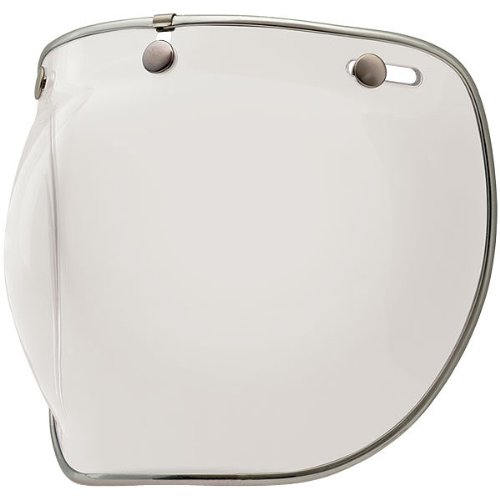 Bell Deluxe Bubble Shield Harley Cruiser Motorcycle Helmet Accessories - Clear - for Custom 500RTShorty