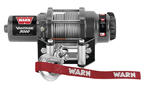 New Warn Vantage 3000 lb Winch With Model Specific Mounting Hardware - 2003-2008 Arctic Cat 400 4x4 Automatic ATV