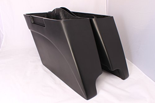 USA-Biker Bagger 4 Stretched Saddlebags TOURING HARLEY ROAD KING Softail Deluxe Heritage