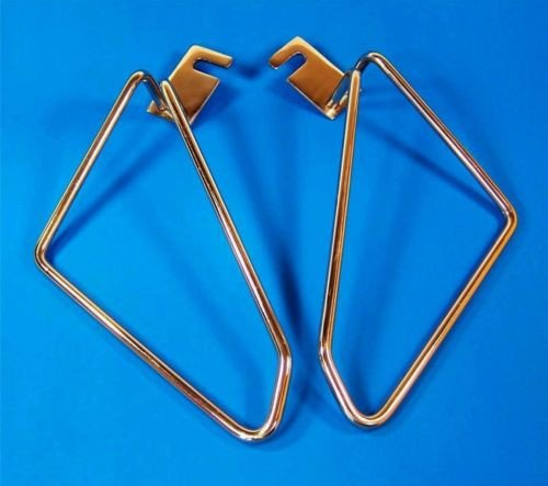 Motorcycle saddlebags brackets pair for harley davidson softail deluxe